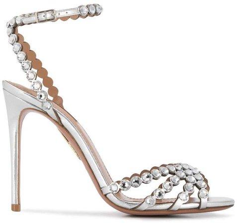 Studio crystal embellished sandals