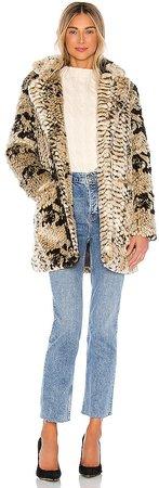Sydney Faux Fur Coat