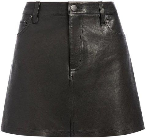 Amazing Leather Mini Skirt