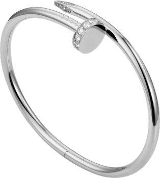 CRB6048717 - Juste un Clou bracelet - White gold, diamonds - Cartier