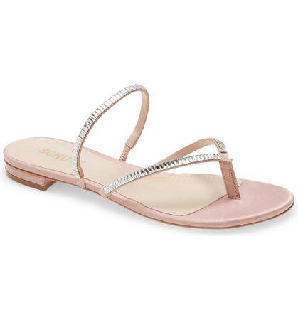 Schutz Stanci Embellished Sandal (Women) | Nordstrom