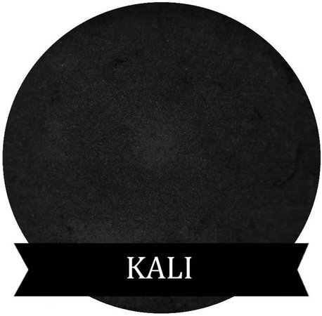 KALI Satin Black Eyeshadow | Etsy