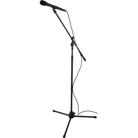 Auray MS-5230F Tripod Microphone Stand with Fixed Boom MS-5230F