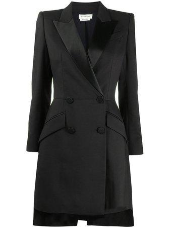 Alexander McQueen double-breasted Blazer Dress - Farfetch