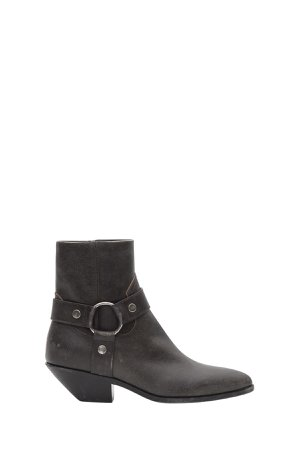 Saint Laurent West Harness Boots