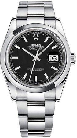 Amazon.com: Rolex Datejust 36 116200: Rolex: Clothing