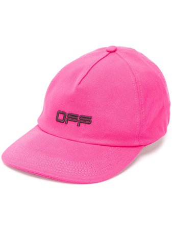 Off-White Embroidered Logo Cap - Farfetch