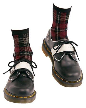 Free People - Thora Plaid Ankle Socks