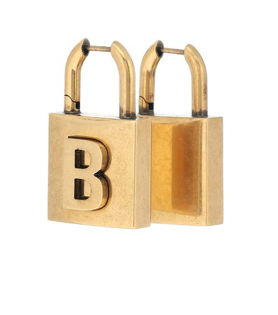 Balenciaga - Lock earrings | Mytheresa