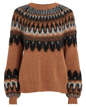 A.L.C. Hollis Fair Isle Sweater | INTERMIX®