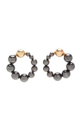 Cami Pearl And Gold Earrings by Beck Jewels   Moda Operandi