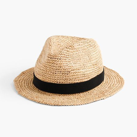 J.Crew: Packable Straw Hat For Women