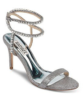 Women's Claudette Crystal Embellished Strappy High-Heel Sandals