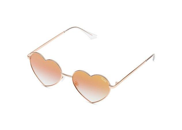 HEARTBREAKER Heart-Shaped Sunglasses | Quay Australia