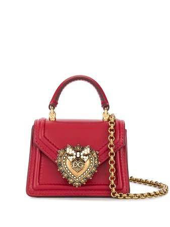Dolce & Gabbana Devotion Micro Bag BI1400AV893 Red | Farfetch