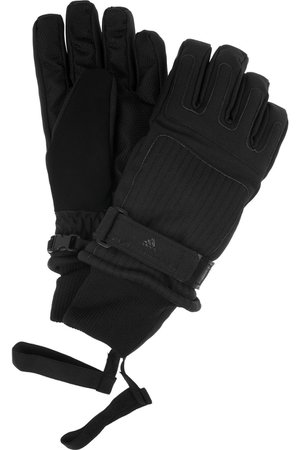 adidas by Stella McCartney | Canvas ski gloves | NET-A-PORTER.COM
