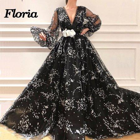 big ball dress black with sleaves – Google Sök