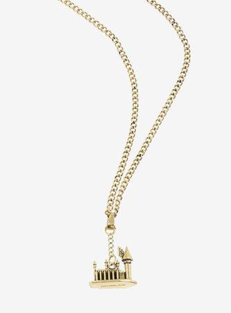 Harry Potter Hogwarts Castle 3D Pendant Necklace