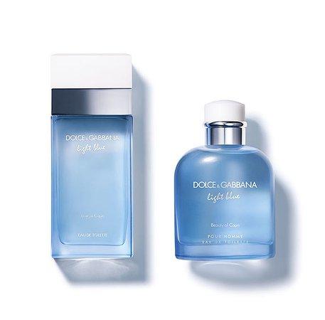 Dolce&Gabbana Light Blue Love in Capri and Light Blue Pour Homme Beauty of Capri ~ New Fragrances