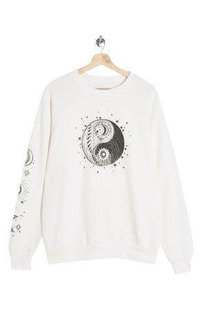 Topshop Mystical Moon Sweatshirt | Nordstrom