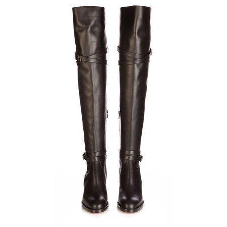 louboutin knee boots