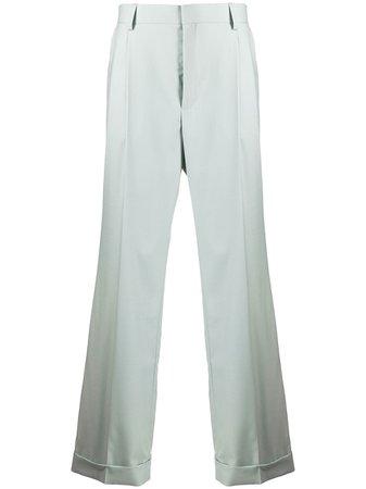 Casablanca wide-leg high-waisted trousers - FARFETCH