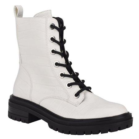Silana Lug Sole Boots - Nine West