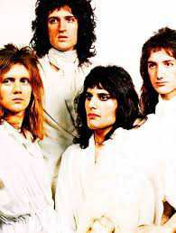 queen band 1974 concert white