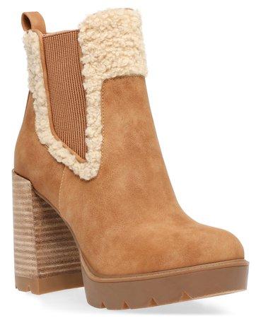 brown DV Dolce Vita Dilla Platform Lug Booties & Reviews - Boots - Shoes - Macy's