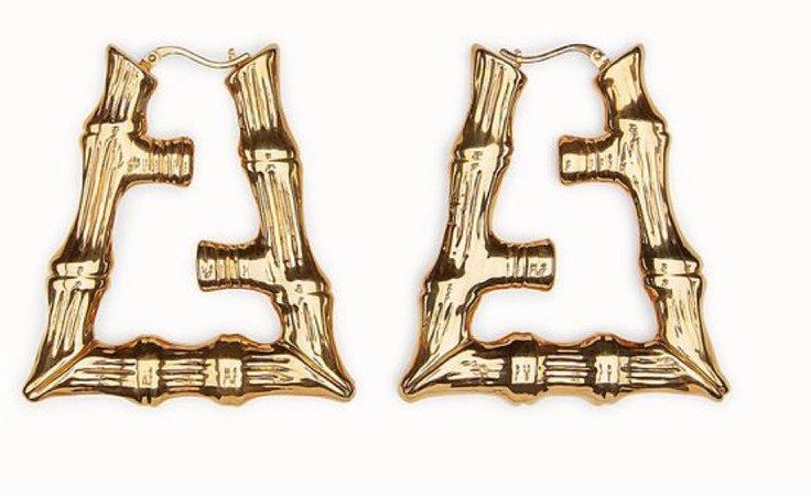 earrings (gold)