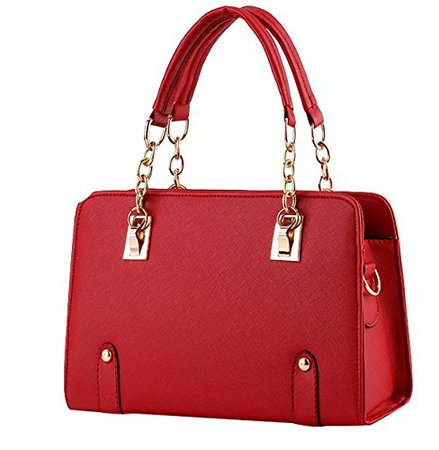 ILISHOP Women's New Fashion Shoulder Bags Top-handle Bags For Ladies Casual Cross-body Bags For Teens Hot Sale (Red): Handbags: Amazon.com