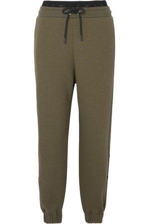 Reebok X Victoria Beckham | Pantalon de survêtement en jersey de coton à broderie | NET-A-PORTER.COM