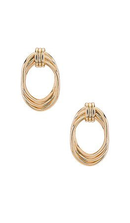 8 Other Reasons Wrapped Hoops in Gold | REVOLVE