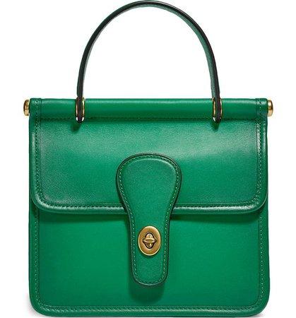 COACH The Coach Originals Willis Leather Top Handle Bag | Nordstrom