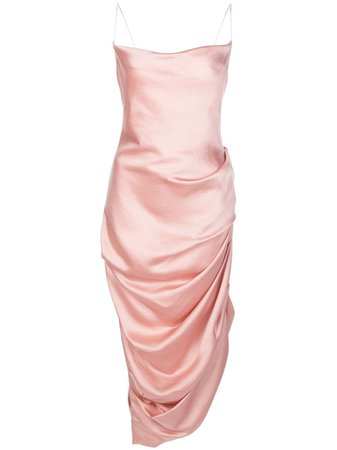 Jonathan Simkhai Ruched Slip Dress - Farfetch