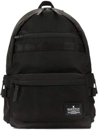Makavelic Fundamental 2 logo backpack
