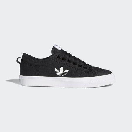 adidas Nizza Trefoil Shoes - Black | adidas US