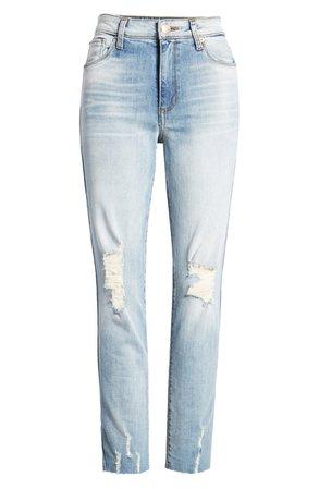 STS Caroline High Waist Straight Leg Jeans blue