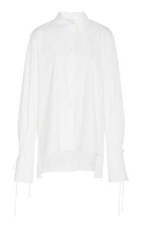 Carolina Herrera Stretch Cotton Shirt