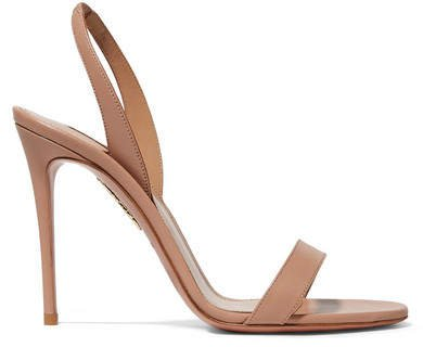 So Nude 105 Leather Slingback Sandals - Blush