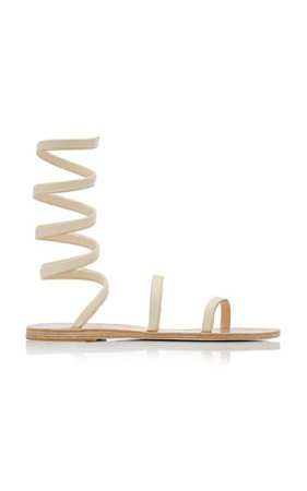 Ofis Leather Wrap Sandals By Ancient Greek Sandals | Moda Operandi