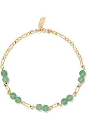 Loren Stewart | Gold aventurine bracelet | NET-A-PORTER.COM