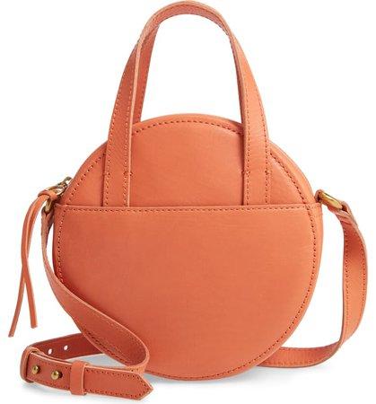 Madewell Juno Circle Leather Crossbody Bag | Nordstrom
