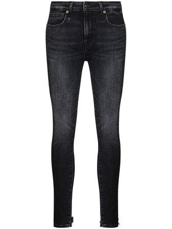 R13 Alison mid-rise Skinny Jeans - Farfetch