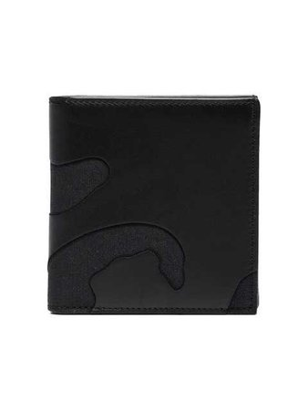 Valentino Camouflage Leather Billfold Wallet - Farfetch