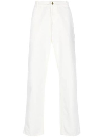 Carhartt WIP mid-rise Straight Trousers - Farfetch