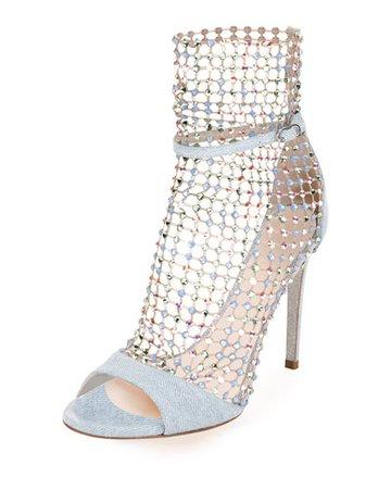 Rene Caovilla Crystal Shoes | Neiman Marcus