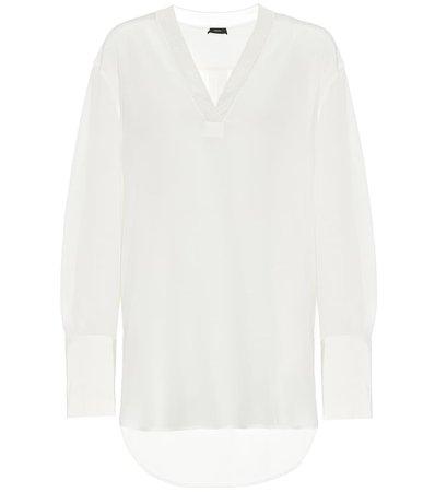 Joseph - Miller silk blouse | Mytheresa