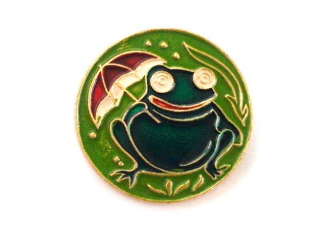 Frog with umbrella vintage collectible children's soviet | Etsy