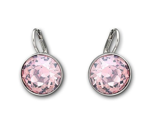 Swarovski-Bella-Pierced-Earrings-Pink-Rhodium-Plating-5140845-W600.jpg (600×500)